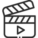 Video script copywriting icon