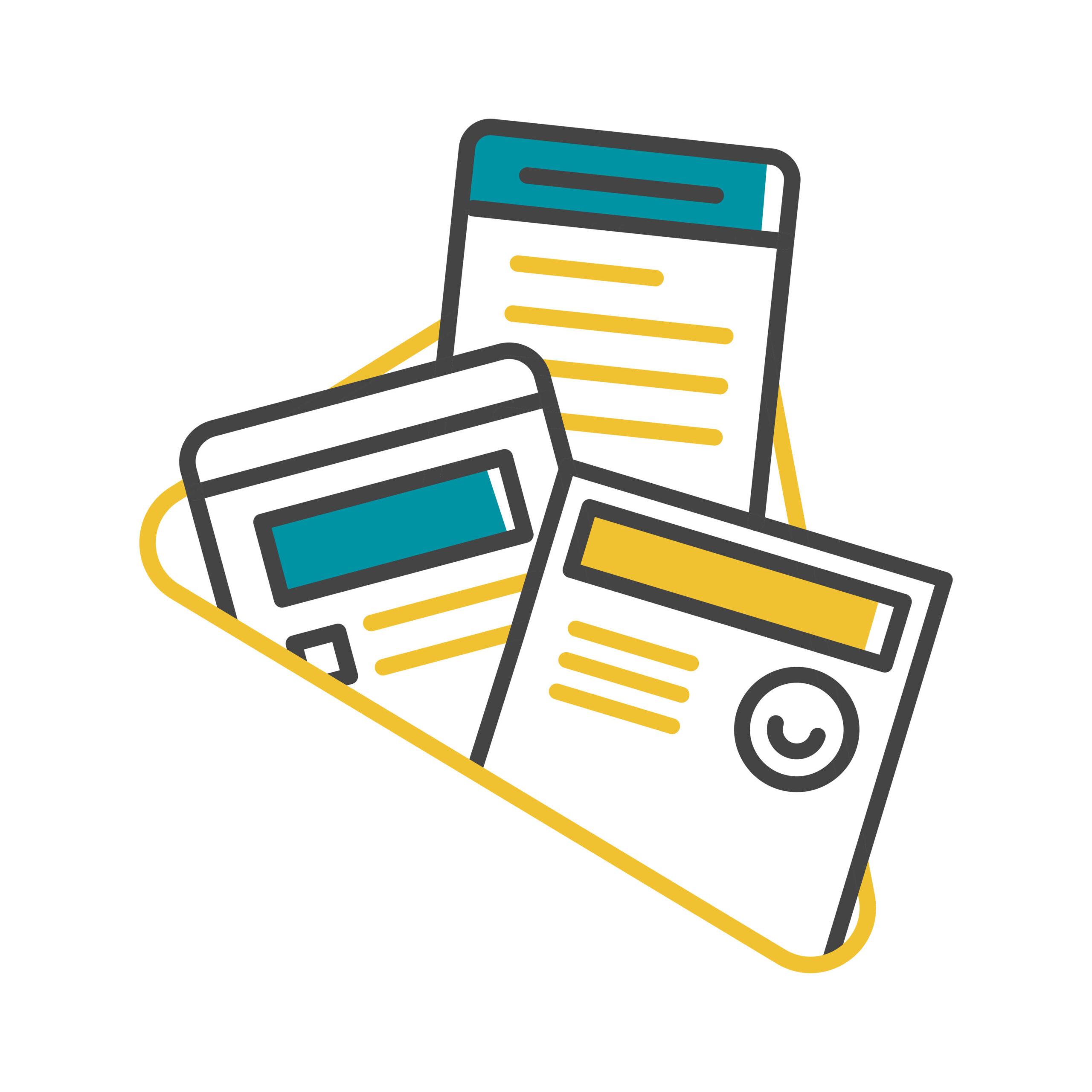 Finance blog content writing vs bylines illustration
