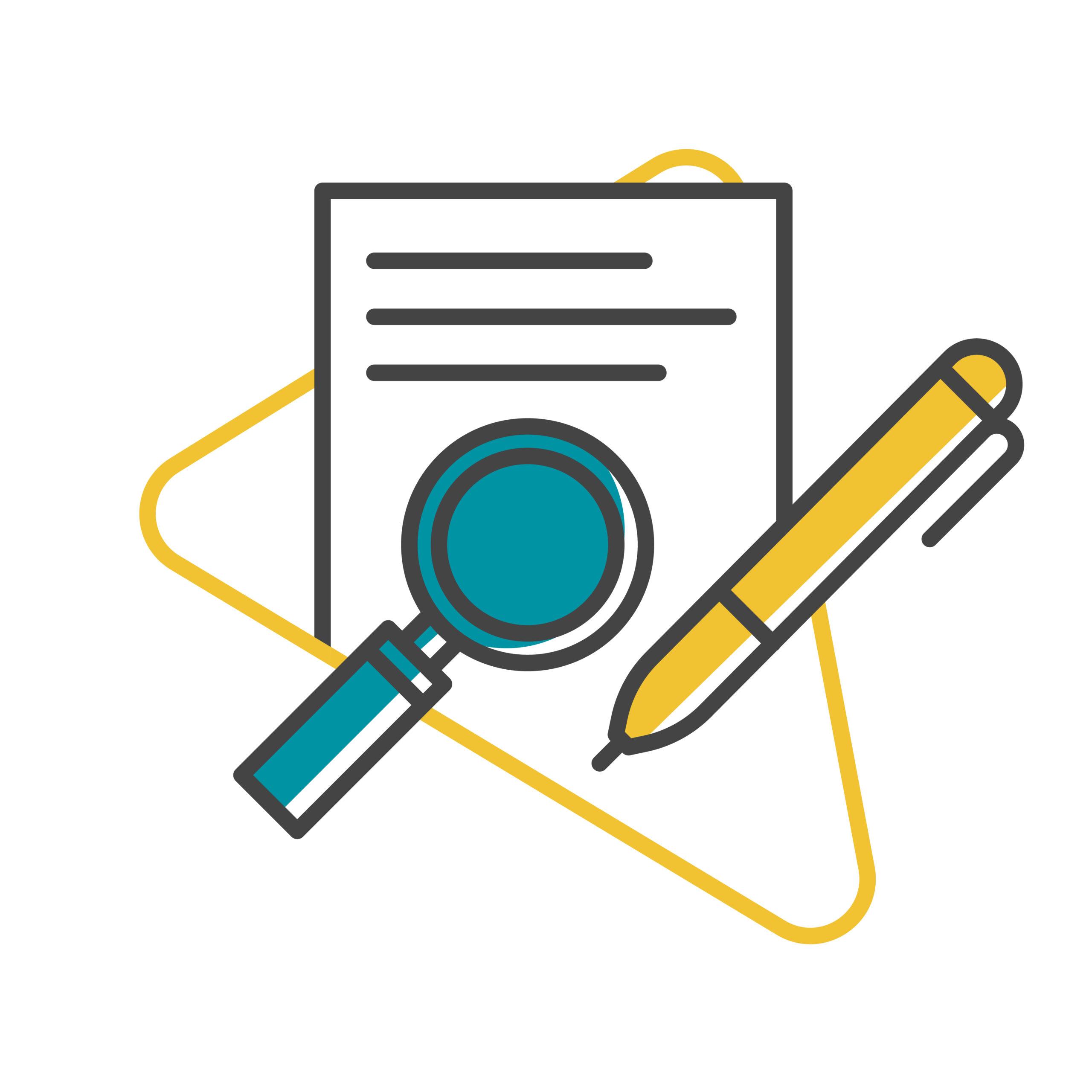 Tech, finance and B2B content writers need editors illustration