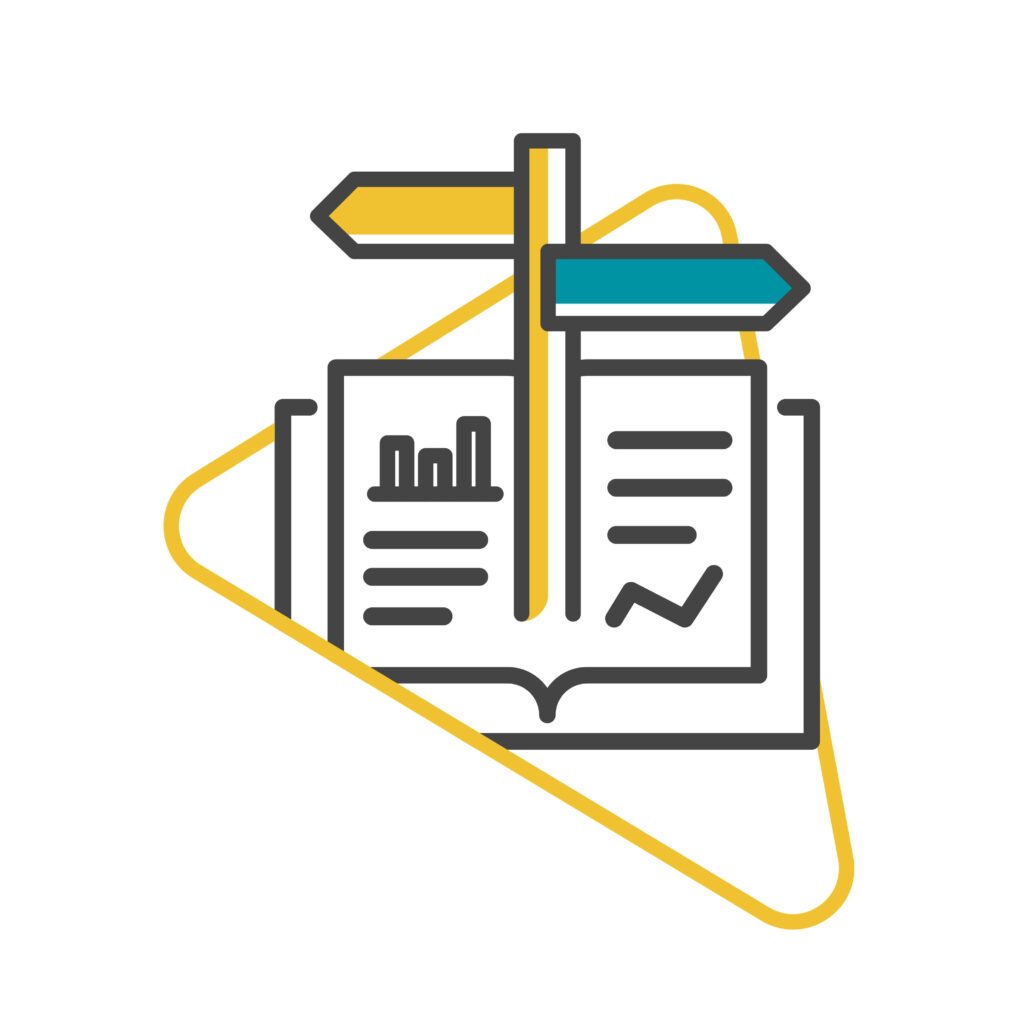 Tech content writing industry reports illustration