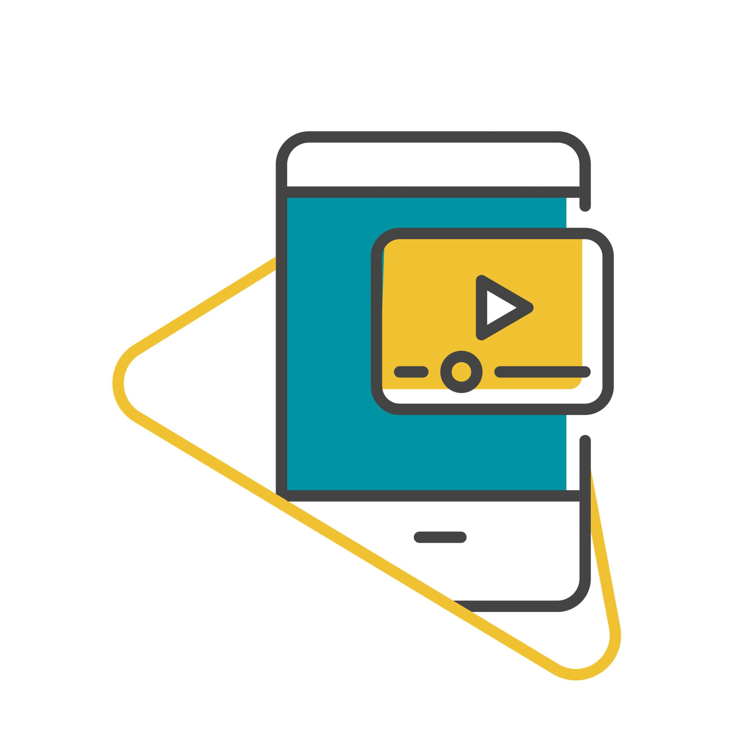 B2B copywriting agency for video scripts illustration